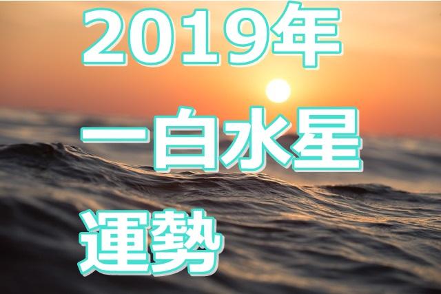 2019年の運勢は 一白水星の人の運気を知る 幸せになる風水