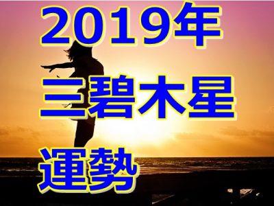 2019年の運勢は!?三碧木星の運気を大公開!!